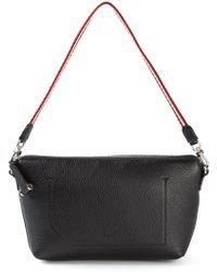 Bally Camille Stripes Leather Shoulder Bag - Lyst