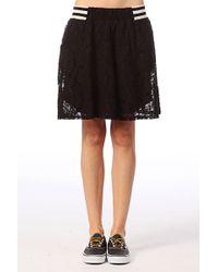 Numph Mini Skirt - Lyst