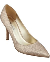 Nine West Martina Pointy Toe Pumps - Lyst