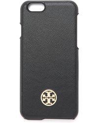 Tory Burch Saffiano Hardshell Iphone 6 Case - Luggage - Lyst