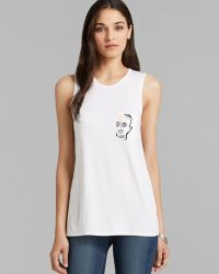 Umano - Tank - The Classico Muscle With The Skull - Lyst