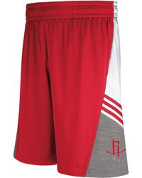 Adidas Mens Houston Rockets Pre-game Shorts - Lyst