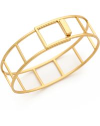 Madewell Tracecraft Bangle Bracelet  Vintage Gold - Lyst