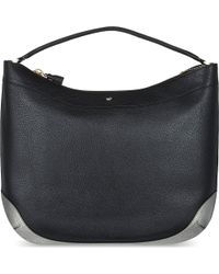 Anya Hindmarch Cooper Small Calfleather Tote Black - Lyst