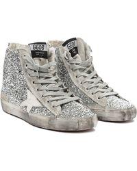 Golden Goose Deluxe Brand Francy High Top Sneakers - Lyst