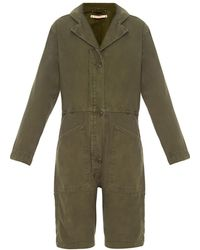 Bliss and Mischief - Flight Cotton Playsuit - Lyst