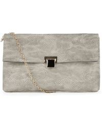Warehouse - Oversized Slouchy Clutch - Lyst