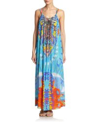 Camilla Take My Hand Drawstring Dress multicolor - Lyst