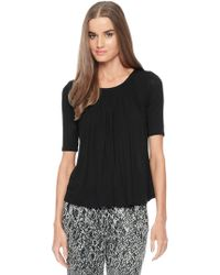 Ella Moss Icon Scoop Neck Top - Lyst