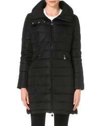 Moncler Flamme Down-Quilted Coat - For Women - Black