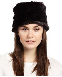 Ivanka Trump Faux-fur Hat - Black