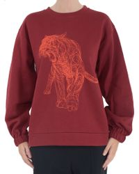 Stella McCartney Embroidered-Sweatshirt - Lyst