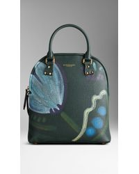 Burberry The Medium Bloomsbury in Handpainted Leather - Lyst