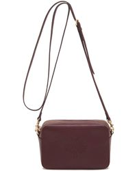 Mulberry Blossom Pochette With Strap purple - Lyst