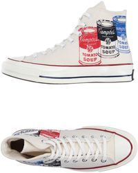 Andy Warhol - High-tops & Trainers - Lyst