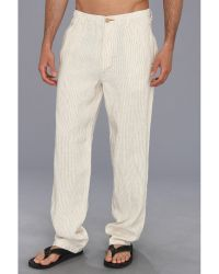 Tommy Bahama Line Of The Times Easy Fit Pant - Lyst