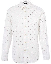 Paul Smith - White Strawberry Shirt - Lyst