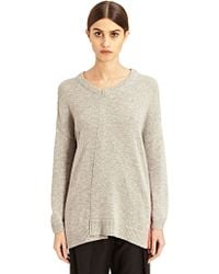 Preen New Season - Womens Zipped Wool and Cashmere Kelsey Sweater - Lyst