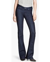 H&M Flare Low Jeans - Lyst