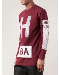 Hood By Air Thumb Prints Tshirt - Lyst
