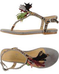 Essentiel - Thong Sandal - Lyst