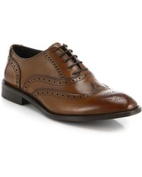 To Boot Wesley Wingtip Lace-Up Shoes - Lyst