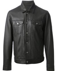 Marc By Marc Jacobs Classic Leather Jacket - Lyst