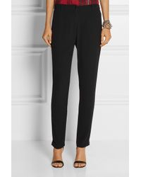 American Vintage Holiester Crepe Tapered Pants - Lyst