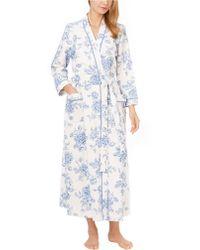 Carole Hochman - Floral Print Long Robe - Lyst