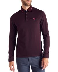 Ted Baker   Plooto Relaxed Fit Cotton Polo   Lyst