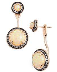 Kendra Scott 'mystic Bazaar - Camilla' Drop Earrings - Metallic