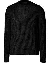 Iris Von Arnim Cashmere Waffle Knit Pullover - Lyst
