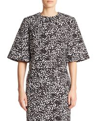 Michael Kors Abstract-Dot Top black - Lyst