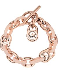 MICHAEL Michael Kors - Armband Rose Gold & Blush - Lyst