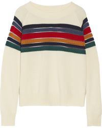 Band of Outsiders | Striped Wool Jumper | Lyst