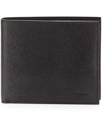 Givenchy Ponyhairembossed Leather Wallet - Lyst