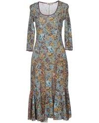 Victorio & Lucchino Kneelength Dress - Multicolor