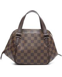 Louis Vuitton Preowned Damier Ebene Belem Pm Bag - Lyst