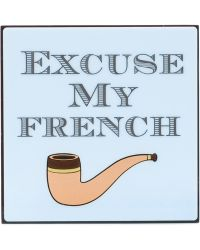Yazbukey 'Excuse My French' Clutch - Lyst