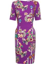 Mary Katrantzou Harlie Stretch Dress - Lyst