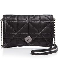 MILLY - Wythe Quilt Convertible Crossbody - Lyst