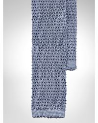 Polo Ralph Lauren Knit Silk Solid Tie - Lyst
