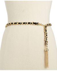 Inc International Concepts Tassel Chain Belt - Lyst
