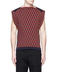 Marni | Atomic Jacquard Sleeveless Knit Top | Lyst