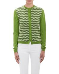 Orley - Intarsia-knit Cardigan - Lyst