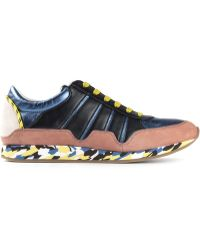 Dolce & Gabbana Multicolor Paneled Sneakers - Lyst