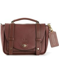 Coach Red Rhyder Satchel - Lyst