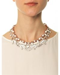 Joomi Lim - Crystal and Spike Necklace - Lyst