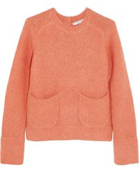 Carven Brushed Knitted Sweater - Lyst
