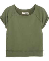 Textile Elizabeth And James Cotton-Terry Sweatshirt - Lyst